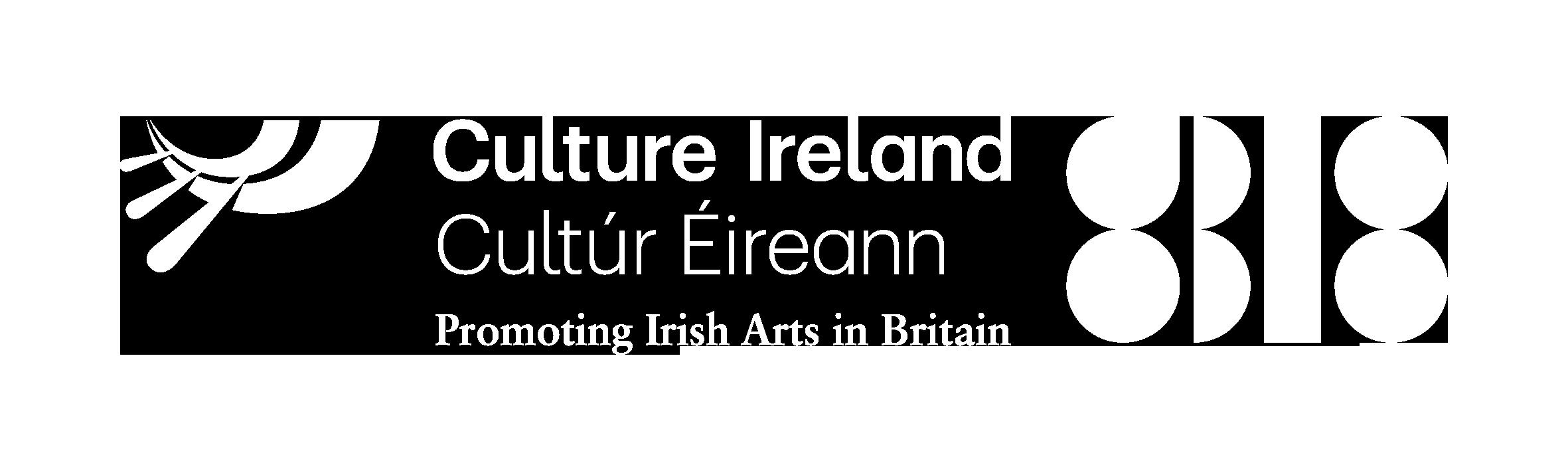 a0b07a2025fe GB18 Logo WHITE. Culture Ireland