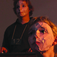 Presentation by Brokentalkers of The Blue Boy, as part  of the Young Theatres of Russia Festival