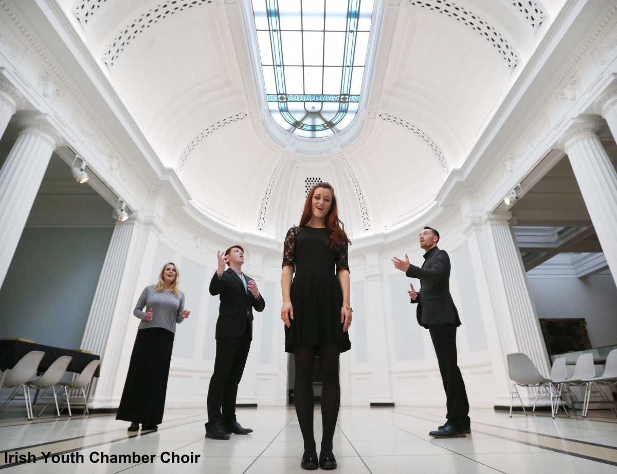 The Irish Youth Chamber Choir celebrates Bloomsday 2016