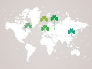 International celebration of Irish culture for St. Patrick's Day