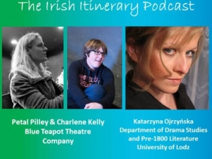 The 6th podcast in the EFACIS Irish Itinerary: Charlene Kelly and Petal Pilley