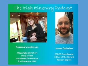 The 10th podcast in the EFACIS Irish Itinerary: James Gallacher and Rosemary Jenkinson