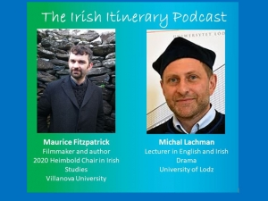 The 12th podcast in the EFACIS Irish Itinerary: Michal Lachman and Maurice Fitzpatrick