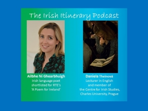 The 13th podcast in the EFACIS Irish Itinerary: Daniela Theinová and Ailbhe Ní Ghearbhuigh