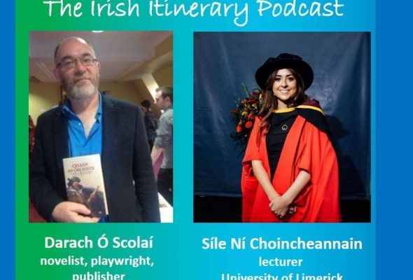 The 8th podcast in the EFACIS Irish Itinerary: Síle Ní Choincheannain and Darach Ó Scolaí