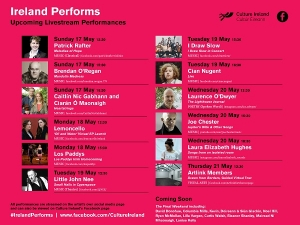 Ireland Performs - Culture Ireland online performances to be extended
