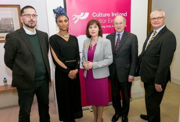 British Embassy Celebrates Culture Ireland GB18 in Dublin