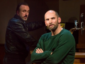 Owen McCafferty's play 'Quietly' has won the award for the Writers Guild of UK best theatre play.