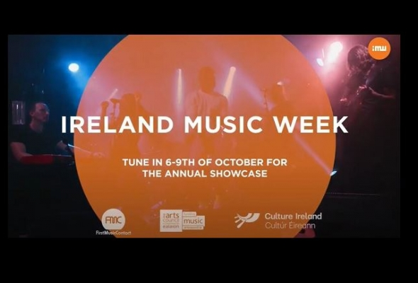 Culture Ireland is delighted to support Ireland Music Week 2020 delivered by First Music Contact