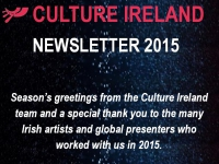 Culture Ireland Newsletter 2015