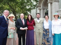 """A Bloomsday Breakfast in Bryant Park"" presented by Culture Ireland and Irish Arts Center"