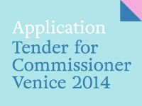 Application. Tender for Commissioner 2014