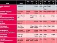 Culture Ireland Edinburgh Schedule