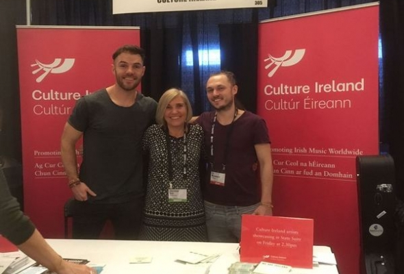 Culture Ireland Delegation at Folk Alliance International