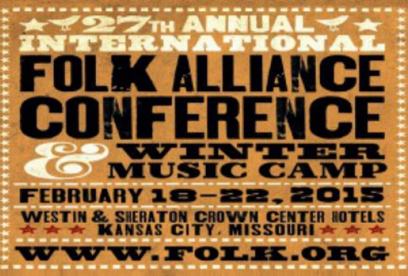 Delegate Call - Folk Alliance International Conference, Kansas City