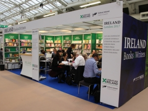 New Literature Ireland Stand unveiled at the 2017 London Book Fair