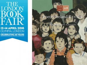 Culture Ireland supports an expanded Irish Presence at the London Book Fair as part of Ireland 2016
