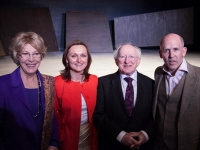President Michael D. Higgins and Mrs. Higgins visit Gare St. Lazare Players Ireland at the Signature