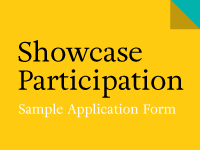 Sample showcase application form